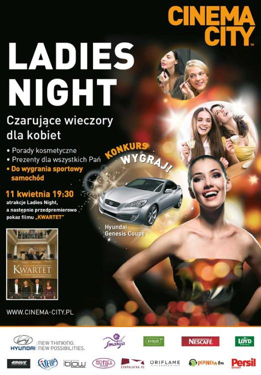 Cinema City_Ladies Night_plakat